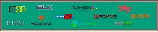 éditeurs de jeux des casinos fiables