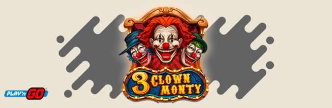 Play'N Go 3 Clown Monty