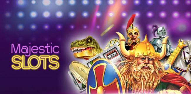 majestic slots banner