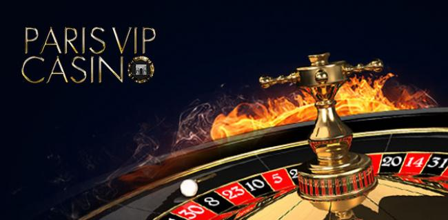 paris vip casino banner
